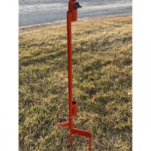 Umbrella Stand W/Dog Tie Out, Will except 1 1/2″ /38mm poles, Steinman Retriever Products